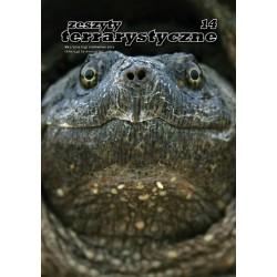 Żółw jaszczurowaty Zeszyty Terrarystyczne nr 2/2015 (14)