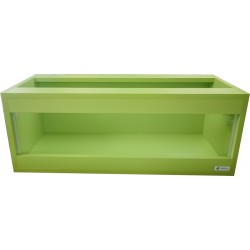 Terrarium 80x35x30 kolor zielony