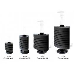 Narożne filtry gąbkowe Corner-Jet