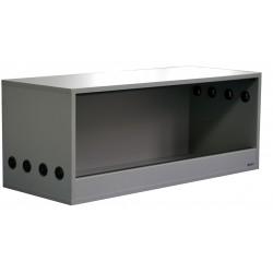 Terrarium 100x40x40cm Szary Platynowy