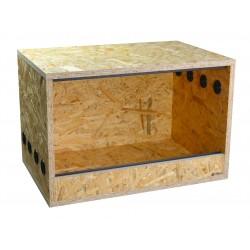 Terrarium 60x40x40cm dla jeża, agamy, gekona, węża