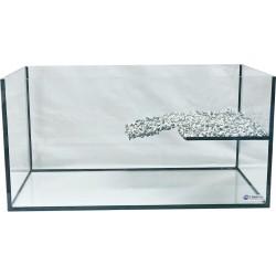 Akwarium dla żółwia wodno-lądowego 75x40x30cm