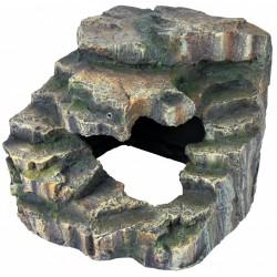 Skała narożna z jaskinią i platformą 19x17x17cm Trixie