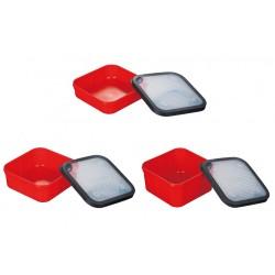 Mikado Pudełko na przynęty czerwone
