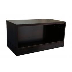 Terrarium 80x40x40cm Sonoma czekolada
