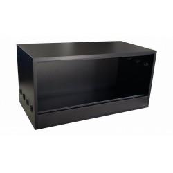 Terrarium 90x40x40cm Czarne WYSYŁKA GRATIS