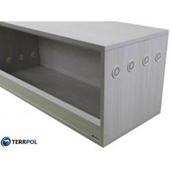 Terrarium 100x40x40cm dla agamy, jeża, węża, gekona