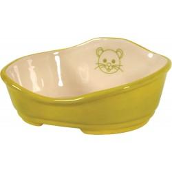 Kosz ceramiczny - Seledynowy