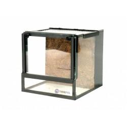 Terrarium 15x15x15cm z tłem