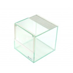 Terrarium  15x15x15 Biel szkło 4mm