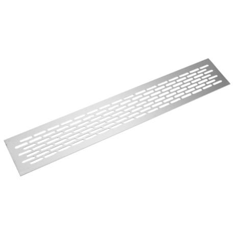 Aluminiowa kratka wentylacyjna do terrarium 8x48cm