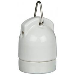 Oprawa żarówki Pro Socket porcelanowa do zawieszania 160W