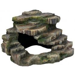 Skała narożna z jaskinią i platformą 26x20x26cm Trixie