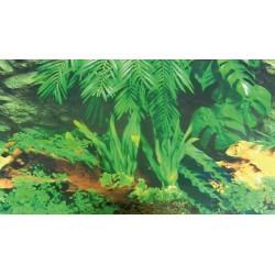 Tło do terrarium dwustronne 60x150cm kora drzewna/las tropikalny Trixie