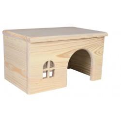 Domek drewniany 28x16x18cm
