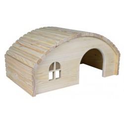 Domek drewniany 19x11x13cm