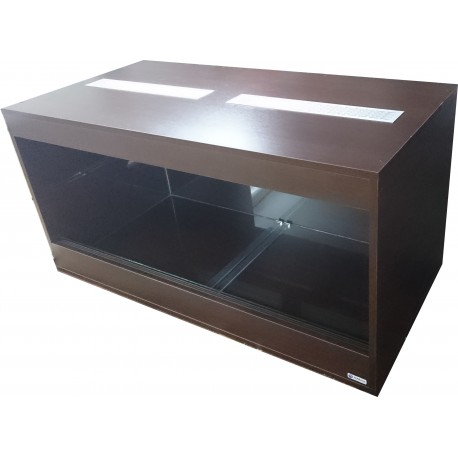 Terrarium 120x50x50cm z szklaną kuwetą