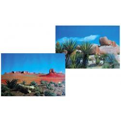 Tło do terrarium dwustronne 60x150cm step/sawanna Trixie